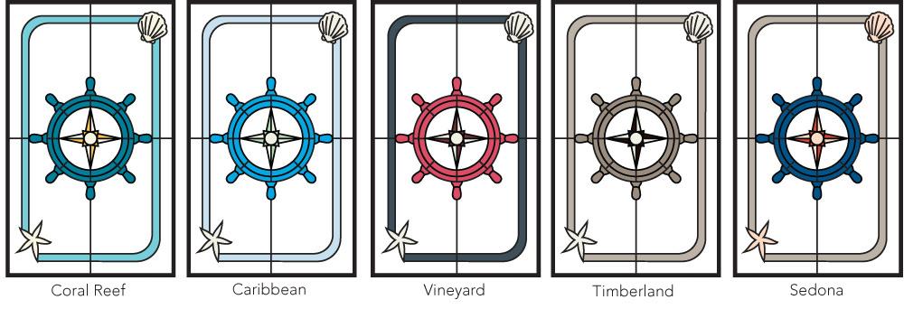 Inspirations Voyage Color Palettes