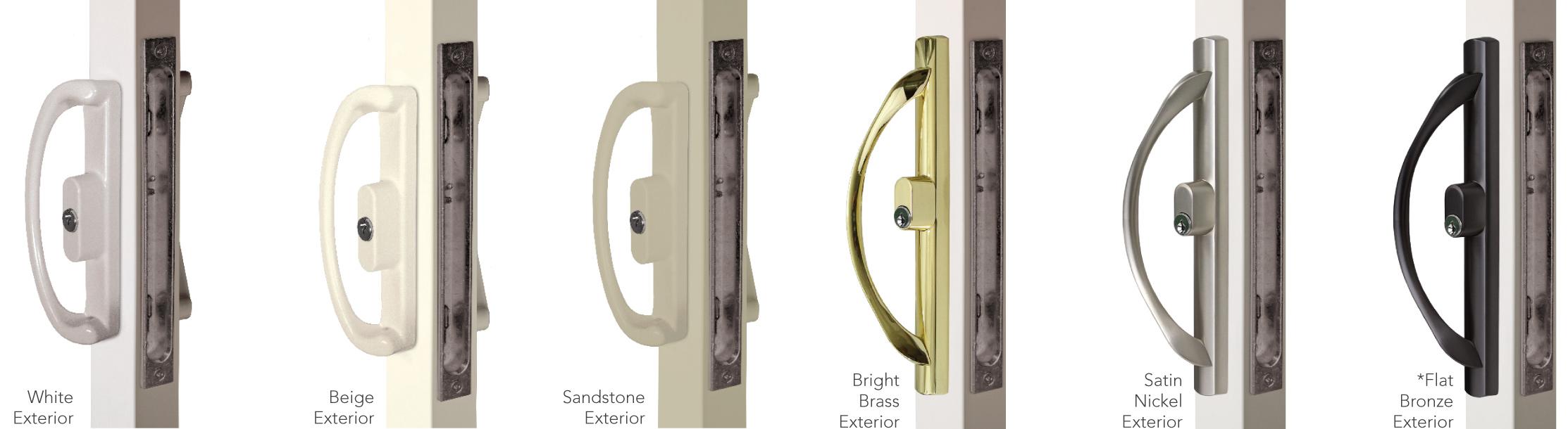 Optional Patio Door Hardware