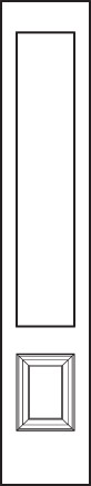 Signet Sidelite door 140