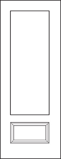 Signet 8' Doors 440-1P