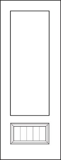 Signet 8' Doors 440-1PP