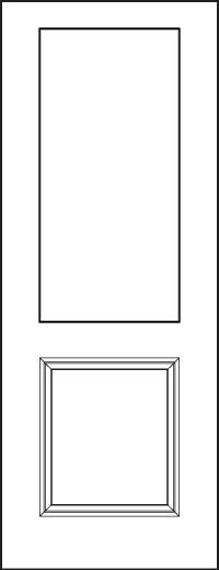 Signet 8' Doors 430-1P