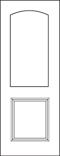 Signet 8' Doors 437-1P