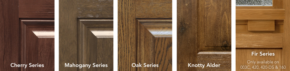 signet entry door finishes