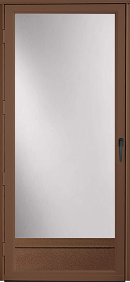 896* Superview storm door