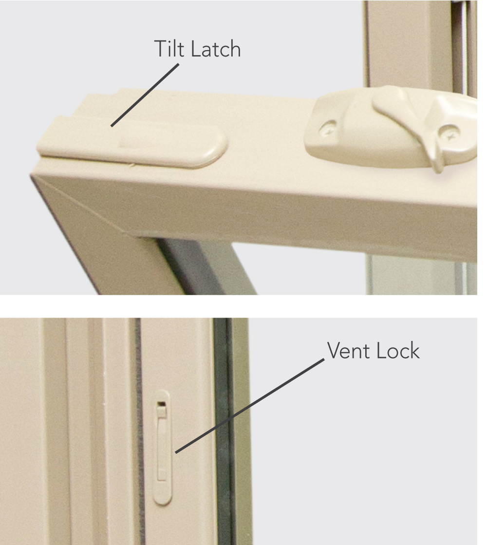 Aspect Double Hung Feature